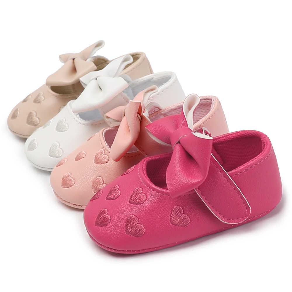 728250545255d Infant Shoes Baby Girl Soft Sole Anti-Slip First Walkers Newborn Prewalker Shoes  Baby Boy