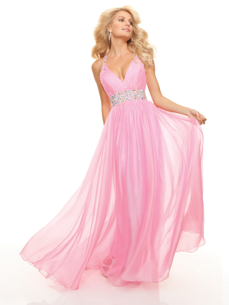 free shipping 2016 New Sexy Long Pool Chiffon Formal Evening Prom Dress Ball Party Bridal Gown