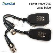 Video Balun Transceiver Supply 1CH Passive Balun RJ45 Power-Video-Data For CVI/TVI/AHD/CVBS for CCTV security Camera Accessories