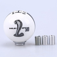 fit For Ford Mustang GT 5 Speed Manual Car Gear Shift Knob Shifter Refit Cobra / 12mm Universal