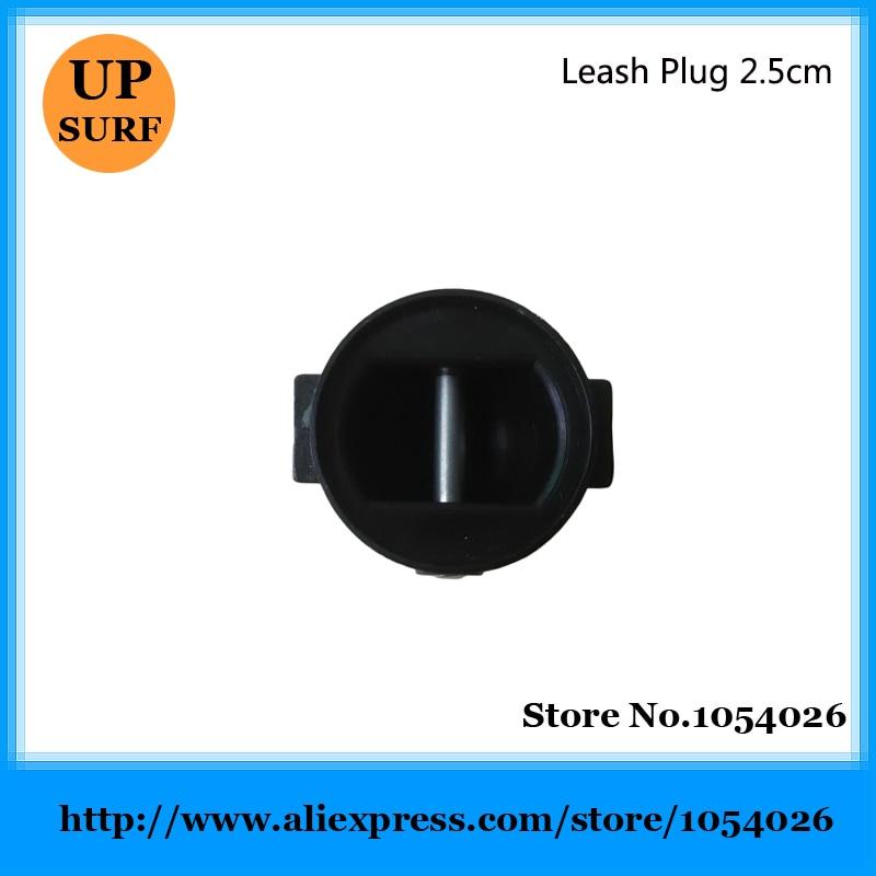 Prancha Leash Plug Plugue Coleira Leash SUP Board Plug 2.5 CENTÍMETROS Preto