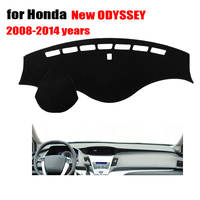Car dashboard covers For Honda new ODYSSEY 2008 to 2014 left hand drive dashboard mat dashmat Instrument platform accessories