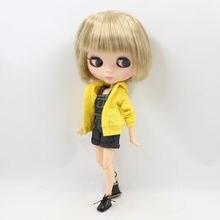 Фабрика Neo Blythe Чоловіча Лялька Брудний Блондинка Коротке Волосся Спільне Тіло 30cm