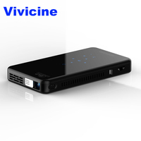 Vivicine X2 LED Mini Projector ,Android 7.1 ,4200mAh battery,Smart HDMI USB PC Game Handheld Wireless Mobile Proyector Beamer