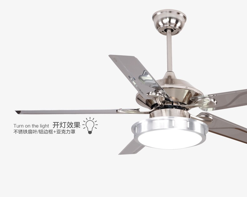 48inch fan light ceiling fan led lights remote control modern 48inch fan light ceiling fan led lights remote control modern minimalist dining room living room fan light ceiling fans in ceiling fans from lights aloadofball Images