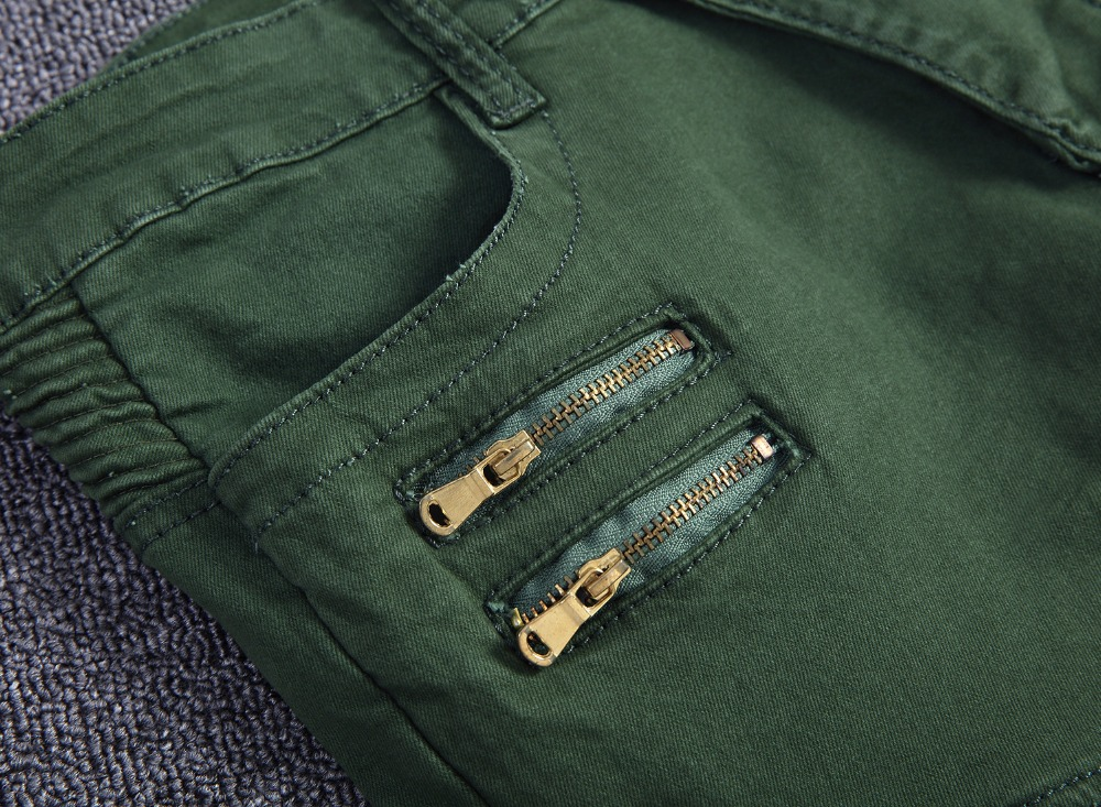 HZIJUE 2017 Autumn winter washing overalls men army green military uniform pants men military Multi-pocket cargo pants men