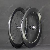 Free Shipping Dimple Wheels Aerodynamic Front 58 Rear 80 2 Year Warranty TT Clincher Road Bike Carbon Wheel 700C Road Bike