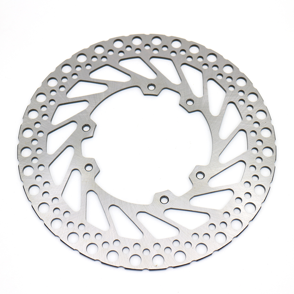 evomosa Motorcycle Front Rear Brake Disc Rotor Stainless Steel For HONDA CR 125 250 CRF 250 450 motorcycle stainless steel 220mm rear brake disc rotor for kawasaki kdx125 kdx200 kdx 220 250 klx250 klx300 suzuki lx250 250 sb
