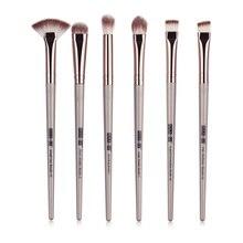 6PCs/Set Pro Makeup Brushes Set Eye Shadow Blending Eyeliner Eyelash Eyebrow Foundation Brush For Make up brochas maquillaje