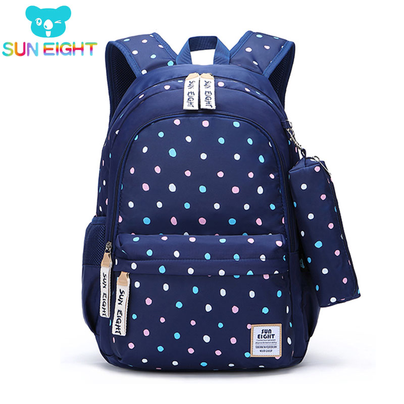 Dot Girl School Backpack School Bags For Teenage Girls Women Rucksack Laptop Backpack Children Backpacks Girl