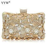 Evening Clutch Bag Party Wedding Crystal Clutches Purse Crossbody Bags for Women Luxury Chain Shoulder Bag with Rhinestone sac