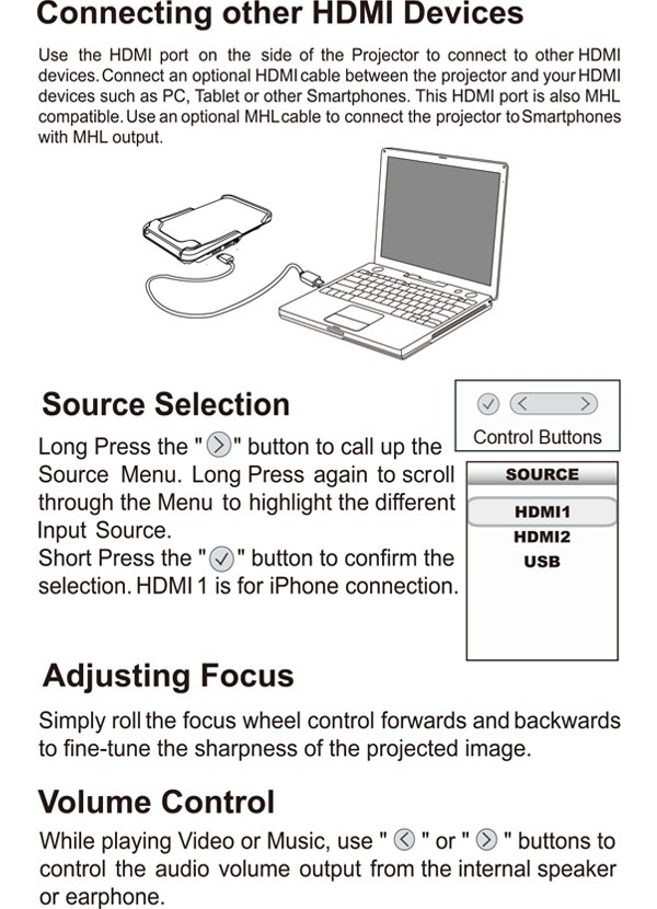 mini led projector 4