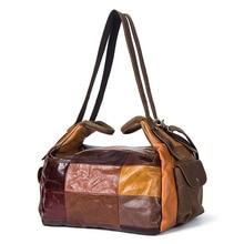 fbc6c35f571c Factory Outlet Retro Color puntada zurriago Unisex bolsas de viaje moda  Plaid equipaje bolsa de viaje