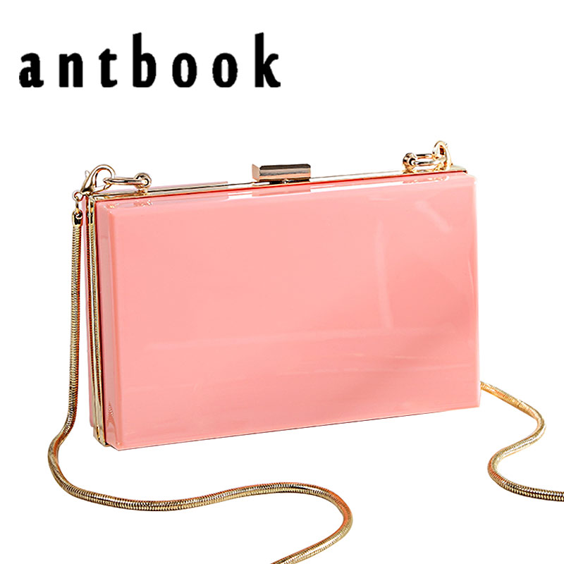 New Cute Solid Women Chain Shoulder Bags Fashion Female Candy Color Days Clutches Women Small Women Messenger Crossbody Bag antbook women chain messenger bags fashion new female solid small shoulder bags jelly small lock crossbody bag for women bags