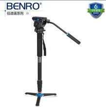 Monopé benro A48TDS4 fotografia câmera SLR câmera portátil de vídeo monocular cabeça