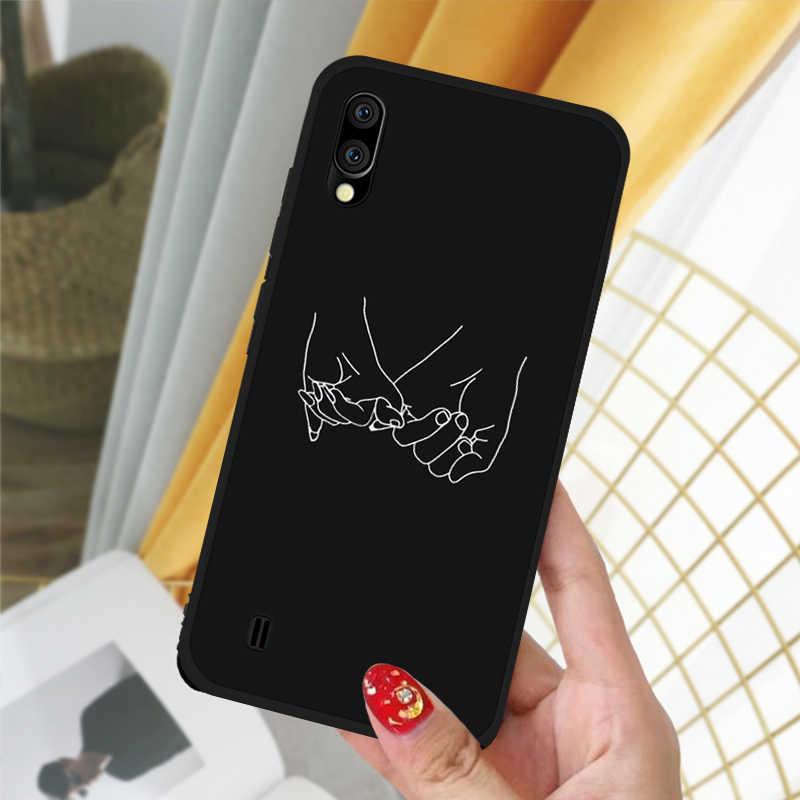 Telepon Lembut TPU Case untuk Samsung Galaxy A10 A20 A30 A40 A50 A60 A70 A20E Kasus Pada 30 50 70 10 40 Case Capa Fundas Coque Cover