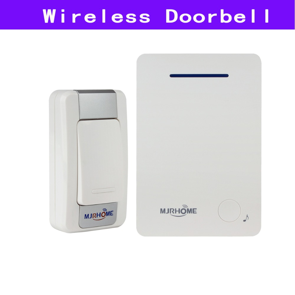Smart Doorbell Wireless Remote Doorbell Chime with 1pcs Transmitter Button/Launcher +1pcs Receiver 36 Music Tune F3314B wireless home security door bell call button access control with 1pcs transmitter launcher 1pcs receiver waterproof f3310b