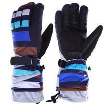 2015 Brand New Winter Outdoor Sport Mountaineer Ski Gloves Windproof Waterproof Warm Unisex Snowboard Gloves Motorcycle Gloves