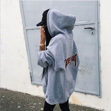 Sailor Moon Limited Special Offer Terry None 2016 Fall Casual Long Loose Hooded Cotton Hoody Size Coat Students Tide