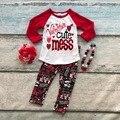 Хлопок день святого валентина бутик новорожденных девочек наряды детская одежда любовь Ацтеков костюм сердце симпатичные беспорядок верхней красный подходящие аксессуары