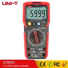 UNI-T True TRMS digital multimeter tester ac dc Voltmeter Ammeter Capacitance Frequency Resistance tester LED testing  UT89XD стоимость