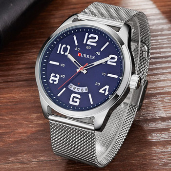 aeed15049ee4 Reloj Hombre 2017 relojes Curren marca de lujo Reloj de cuarzo para Hombre  relojes deportivos impermeables Reloj de vestir para Hombre Reloj Masculino