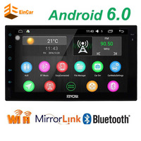 New Android 5 1 1 Car Audio Stereo GPS 3G Wifi Bluetooth Gps Navi Radio