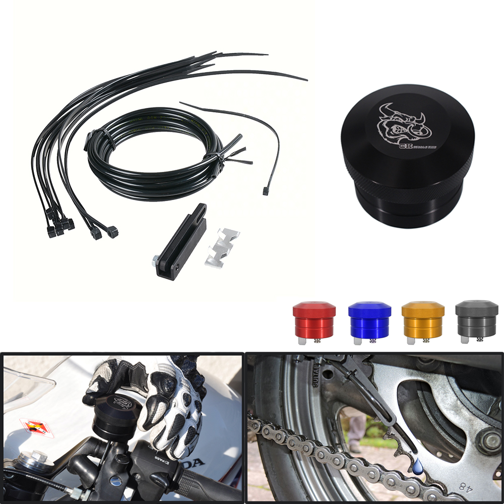 Moto Oilers Chaîne/Chaîne lubrificateur Pour Honda singe hornet nc700x nc750x NC700/NC750 S/X cbf 600 vtx 1800 crf250r crf230