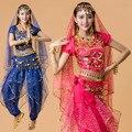 Traje de Dança do ventre Traje Indiano de Bollywood Conjuntos de Vestido Das Mulheres de Vestido de Dança Do Ventre Traje de Dança Do Ventre