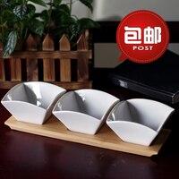 Platos de cerámica de Doug sushi Japonés plato salsa plato platos pequeños platos para el envío