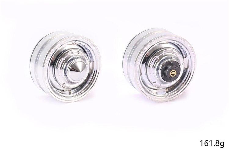 Métal 1.9 pouce beadlock roue jante chenille pour TOYOTA RC4WD TF2 FJ40 HPI FJ LAND CRUISER lc70/lc80 (couvercle de moyeu non inclus) - 3