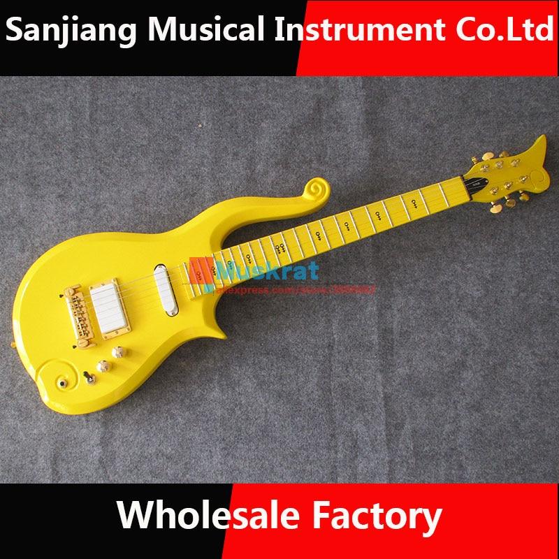 Miniature Guitar PRINCE Cloud Black /& Strap