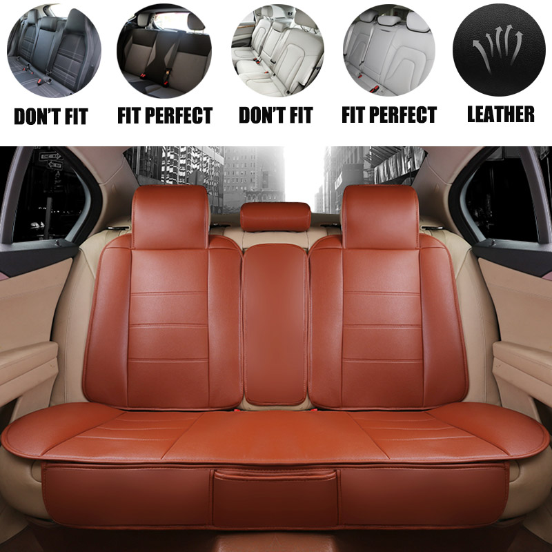 Yuzhe Leather car seat covers For Peugeot 205 206 207 2008 3008 301 306 307 308 405 406 407 car accessories styling cushion for peugeot 206 207 307 308 301 406 407 3008 new brand luxury soft pu leather car seat cover front
