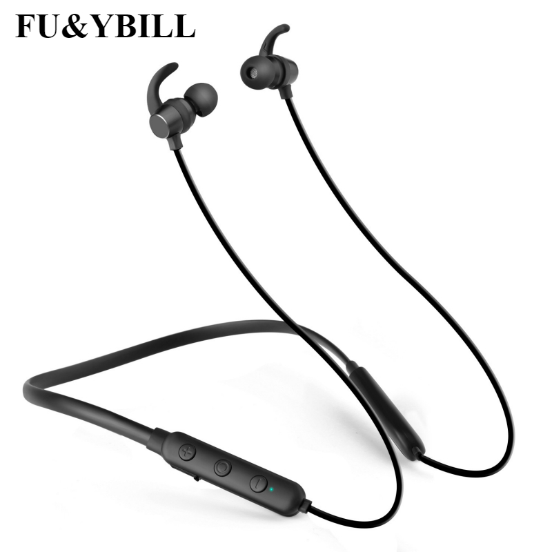 Fu&y Bill New Fashion Sport Wireless X7 Bluetooth Headset 4.1 Rear Hanging Stereo Bluetooth Headset Neck Hanging Sports Earphone