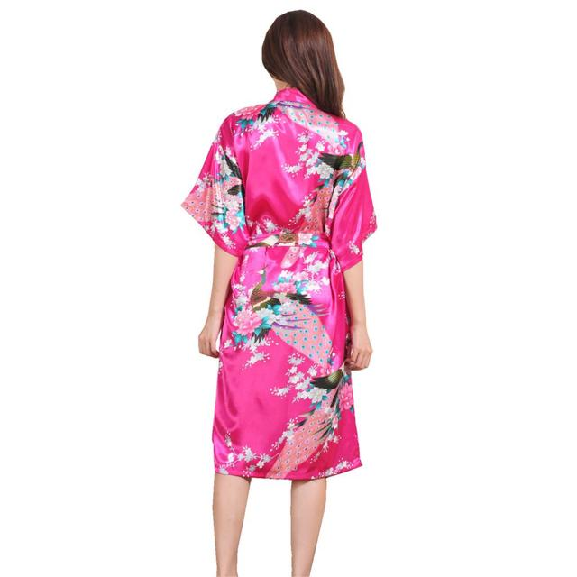 Para As Mulheres Atacado Varejo Crianças Robe Robe De Seda Chinesa 2016 Frete Grátis Mulheres Atacado Varejo Rosa Robe Robe Bandagem 2016