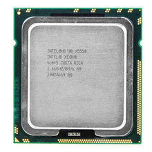 Free Shipping  INTEL X5550 service CPU/2.66GHz /LGA1366/8 threads/L3 Cache 8MB/Quad-Core/scrattered pieces motherboard