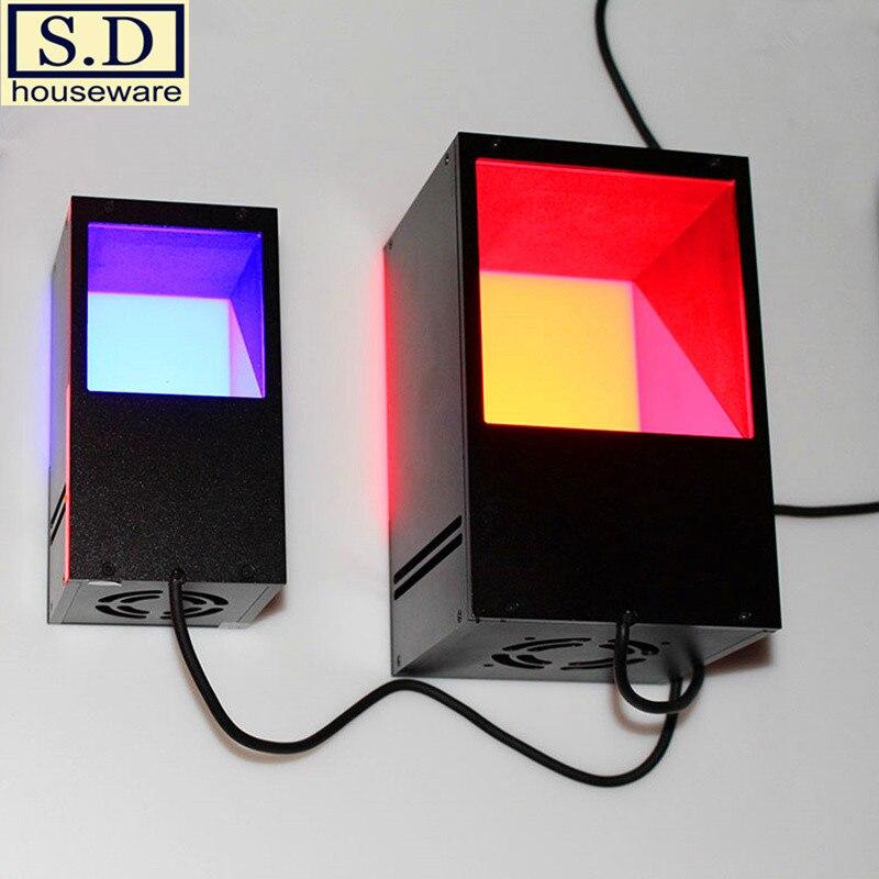 Col-40 Maschine Vision Lampe Koaxial Lichtquelle 38*42mm Industrielle Led Beleuchtung Erkennung Quelle Weiß Lichter Und Blau Licht Industriebeleuchtung