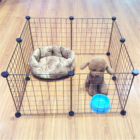New Fashion Pet Fences Multi function Fence Bearing Iron Cage for Small and Medium Dog Cat Rabbit Piglet Fence Pet Supplies