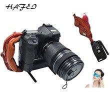 Универсальный DSLR камера кожа ручка запястье пластина на ремешке подходит для Canon 1000D 550D 600D Nikon sony Fujifilm