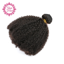 Slove Peruvian Afro Kinky Curly Human Hair