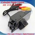 Резервное копирование Безопасности CCD Камера Заднего Вида с Высоким Разрешением Парковка NTSC Широкоугольный Водонепроницаемая Камера для Hyundai IX35 Tucson Автомобильный GPS Navi