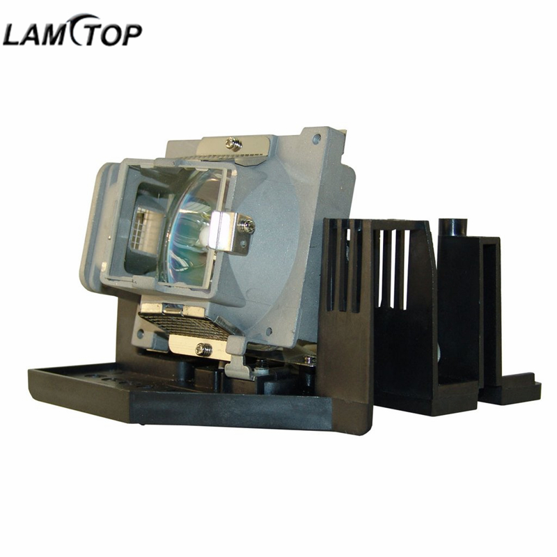 LAMTOP CS.5J0DJ.001 replacement compatible projector lamp bulb with housing SP820 hot selling lamtop projector lamp ec jc200 001 for pn w10