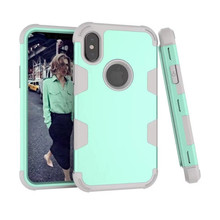 Hybrid Tough Shockproof Mixed color Phone Back Case For X XR XsMax 8 7Plus 6 6S Plus case iphone 7 Cover 6s
