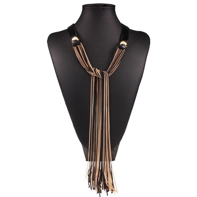 Купить 2018 г новый ретро длинные для женщин цепочки и ожерелья кожа картинки