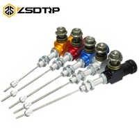 ZSDTRP Motorrad Leistung Hydraulische Kupplung Bremse Pumpe Zylinder Stange System leistung effiziente transfer Pumpe M10x1.25mm