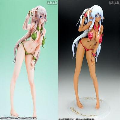 Genco Anime Queen's Alphamax Blade Alleyne 1/6 Scale Sexy Leaves Swimsuit Girls Javelin Queen Figure Collectible Toy EN0 genco queen