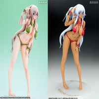 Genco Anime Queen's Alphamax Blade Alleyne 1/6 Scale Sexy Leaves Swimsuit Girls Javelin Queen Figure Collectible Toy EN0
