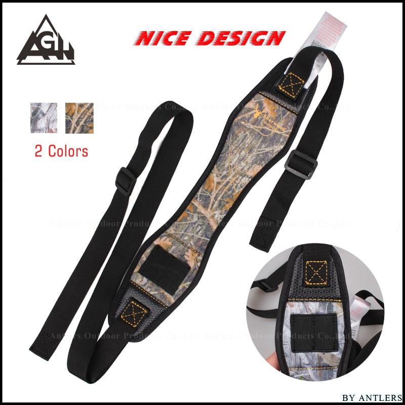 Tactical Rifle Gun Sling Hunting accessories Antiskid Adjustable Belt Strap