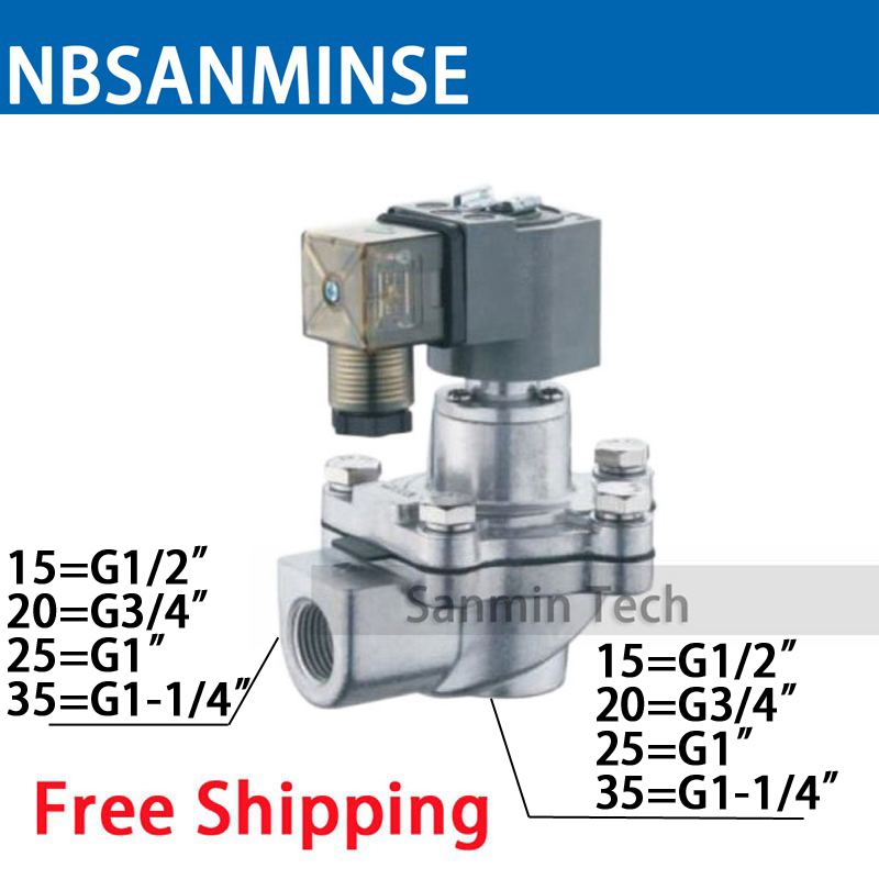 NBSANMINSE QG - Z 1/2 3/4 1 1-1/4 inch Replace GOYEN Solenoid Pulse Jet Valve Dust Collector Diaphragm Valve