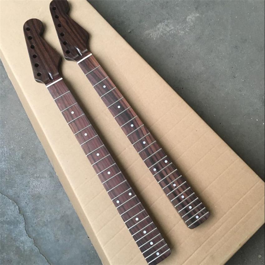 Manche de guitare en palissandre, manche de guitare, touche en palissandre, stock